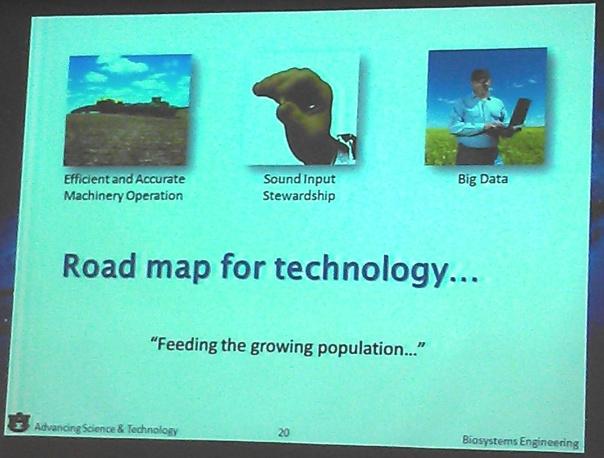 road map for technology-from John Fulton, Auburn University