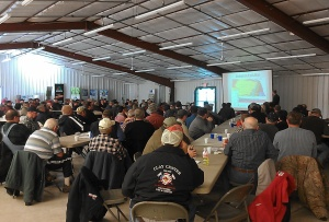 Little Blue NRD updates during the Soil and Water Conference in Clay Center.