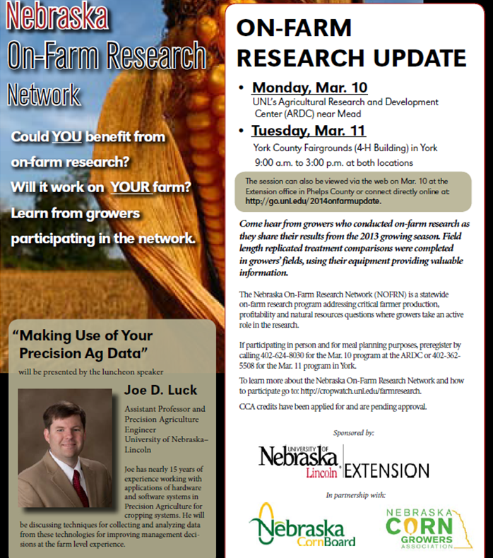 On-Farm Research Update
