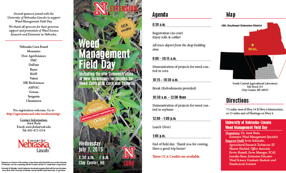 SCAL Weed Field Day1