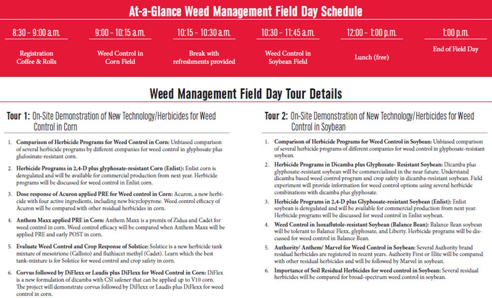 SCAL Weed Field Day2