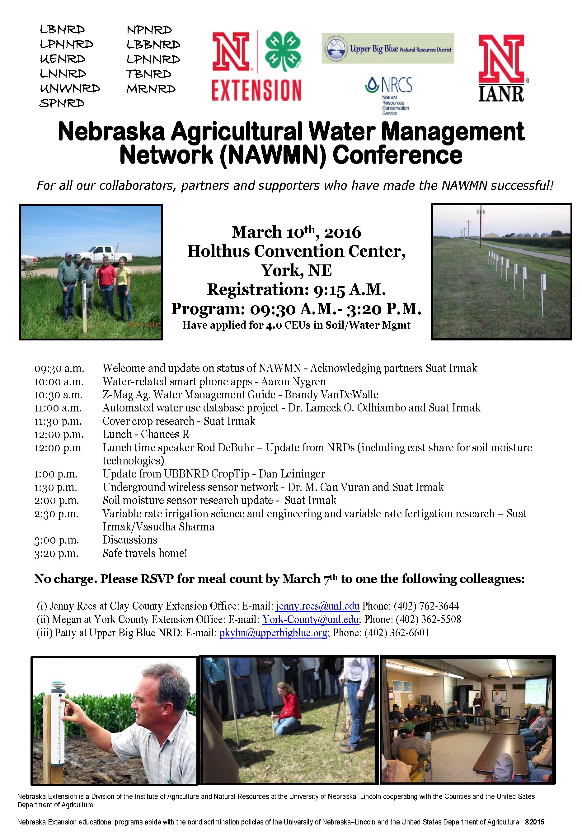 Irmak_NAWMN Meeting Agenda-Flier March 10 2016-CEUadded