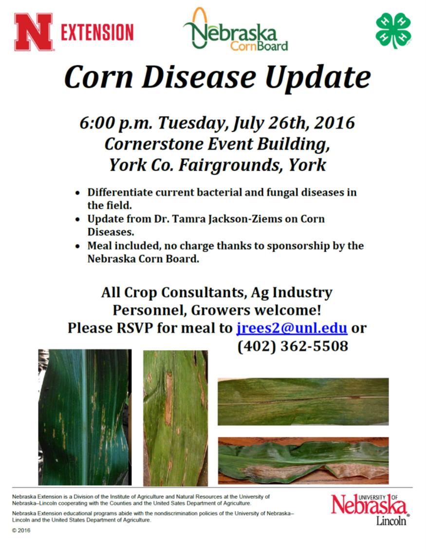 corn disease meeting