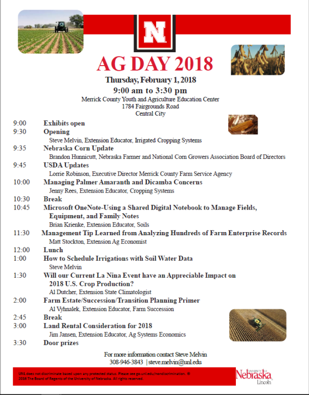 Merrick Co. Ag Day