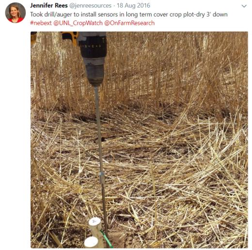 soil probe drill pic