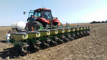 2018 Corn Grower Plot Planting
