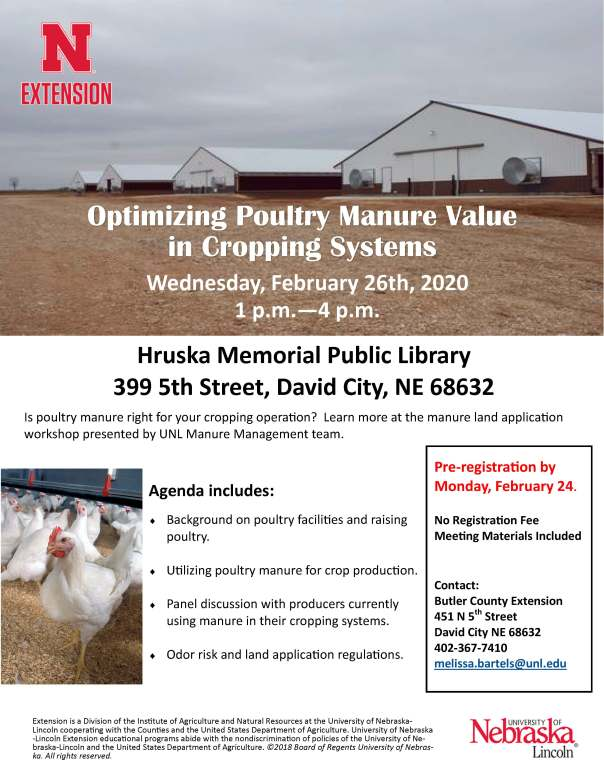Broiler Manure Application Flyer