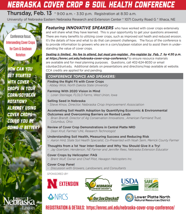 Nebraska Cover Crop Conference